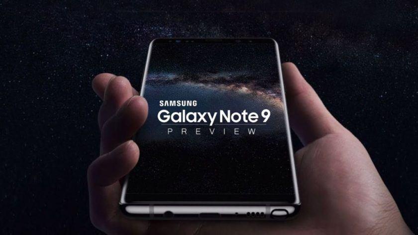 Se rumorea que Samsung Galaxy Note 9 tendrá una batería de 4000 mAh