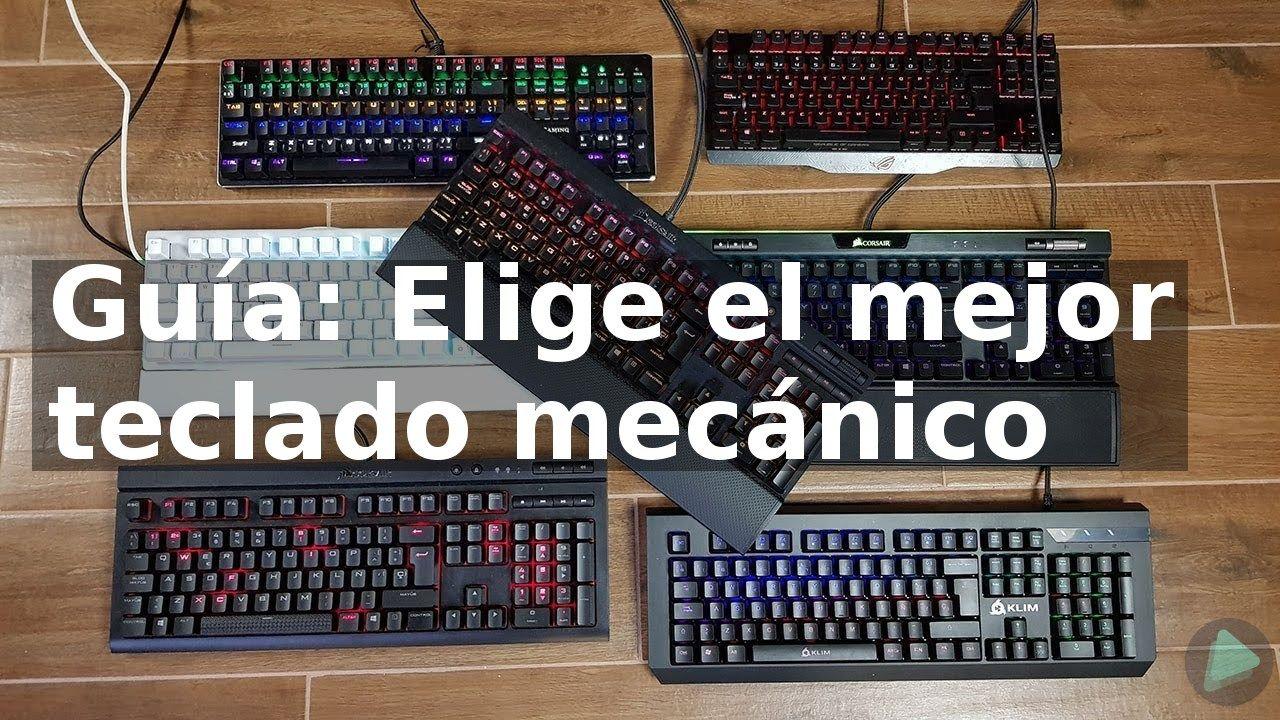 Guía: Elige el mejor teclado mecánico
