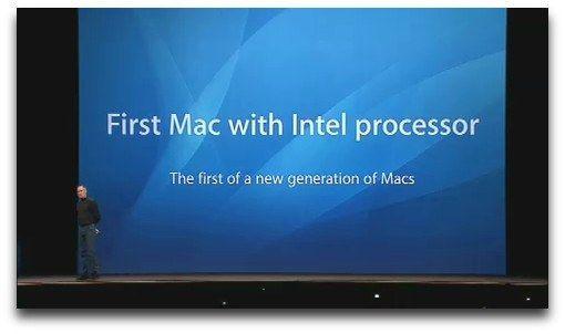 Apple pondrá fin a la era del Mac x86 en 2020