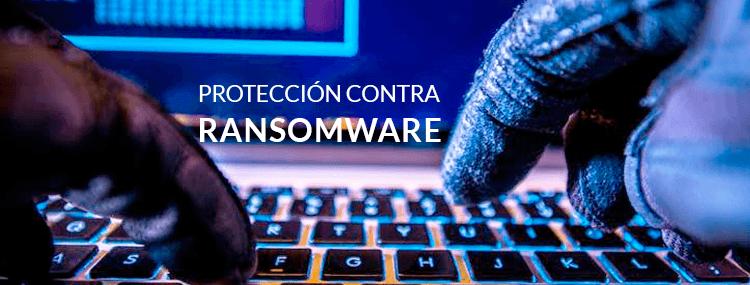 Sección de protección de Ransomware incluida en la actualización de creadores de Spring de Windows 10