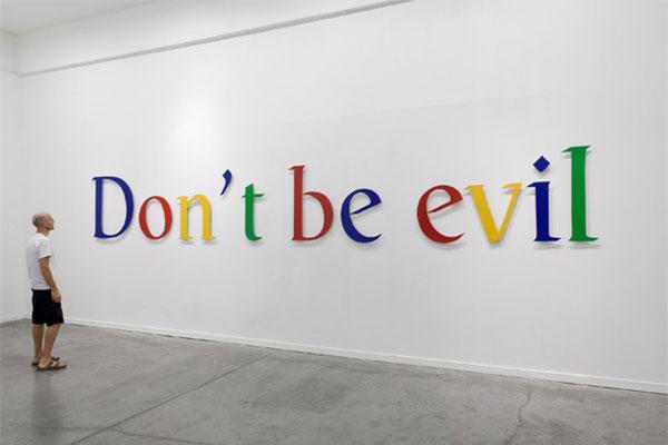 """Google elimina la cláusula """"Don't Be Evil"""" de su código de conducta"""
