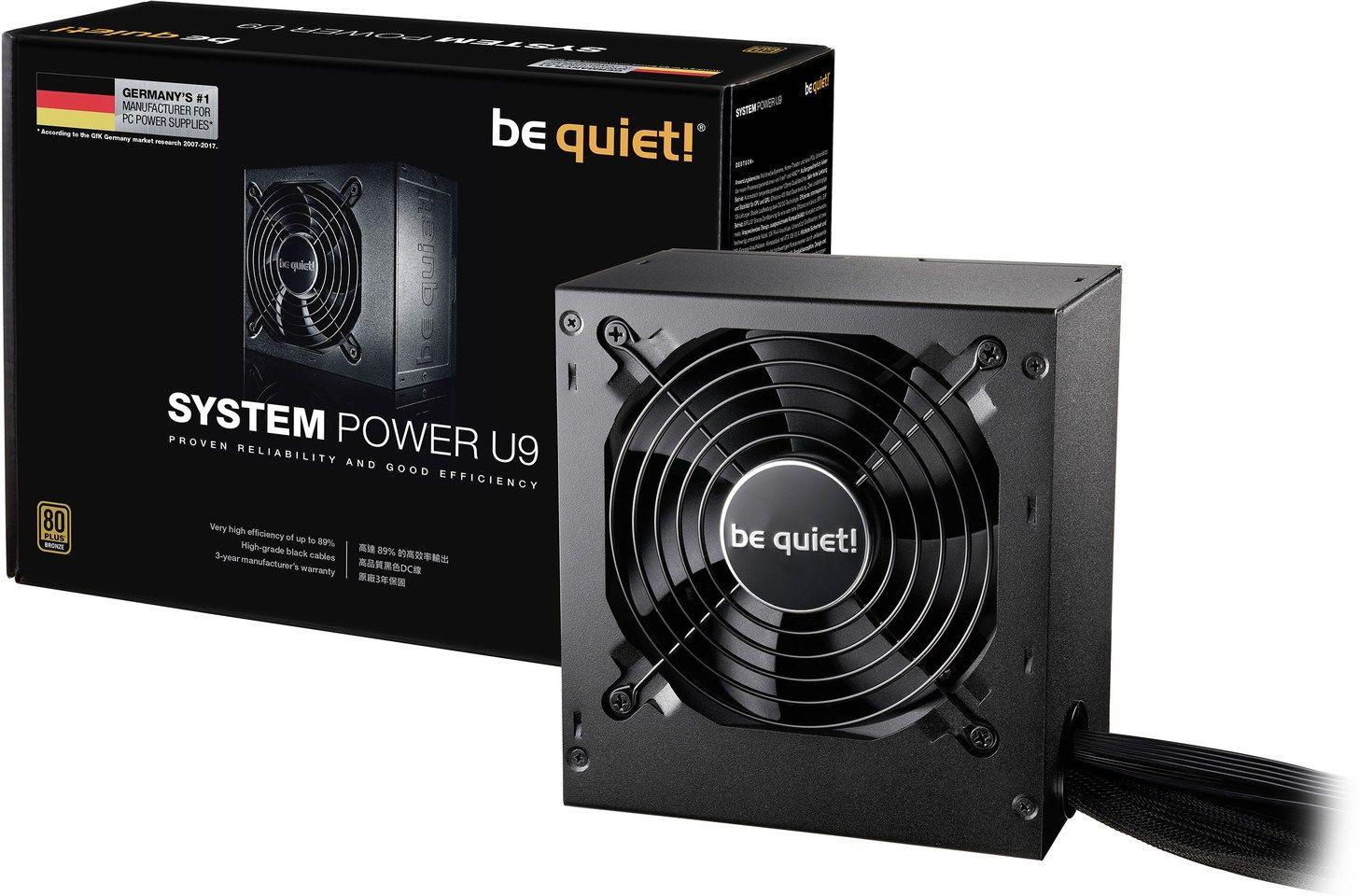 Be Quiet! Anuncia la serie de fuentes de alimentación System Power U9