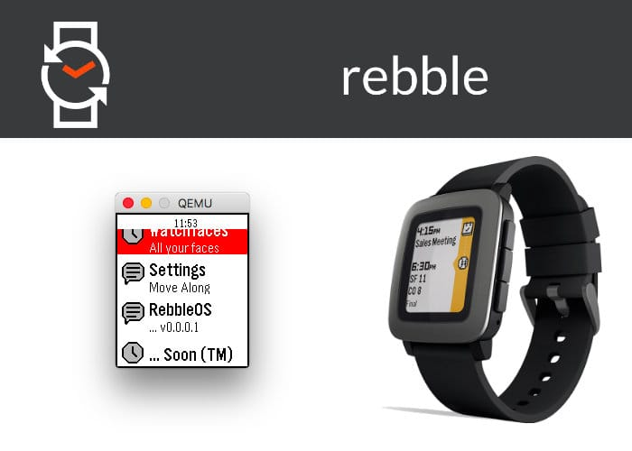 Rebble quiere mantener tu reloj inteligente Pebble funcionando