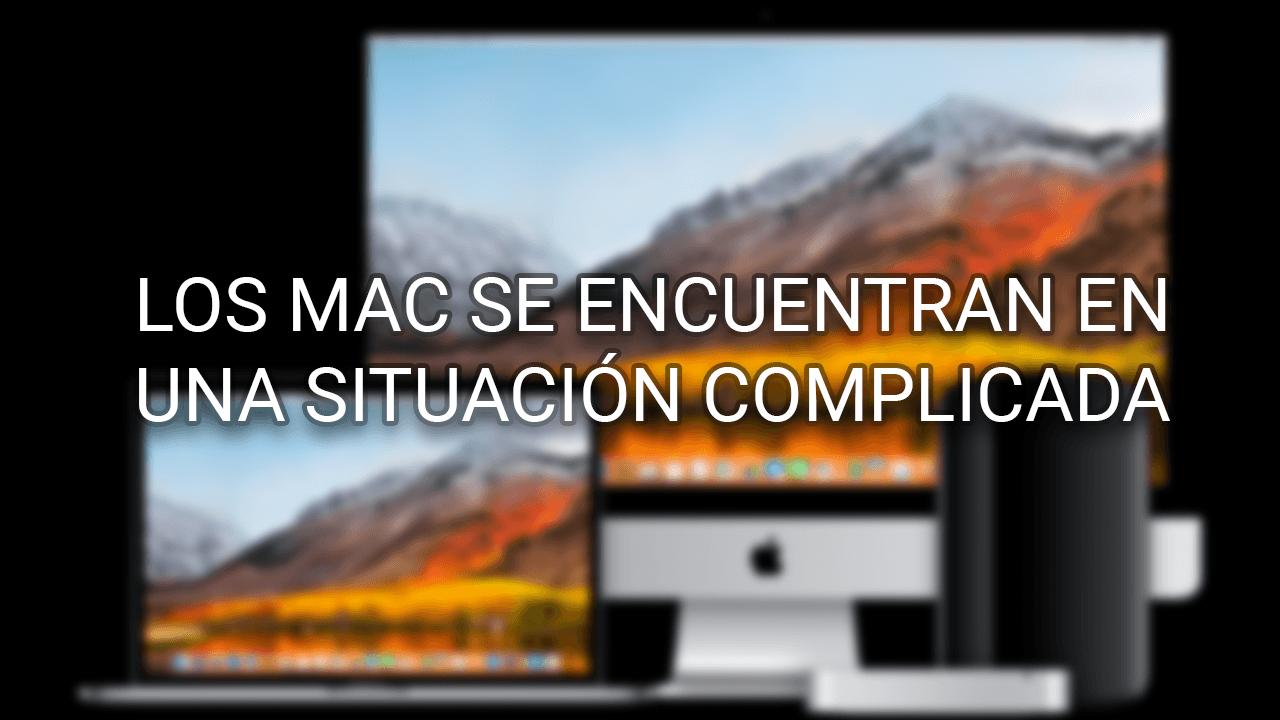 Los Mac se encuentran en una situación complicada