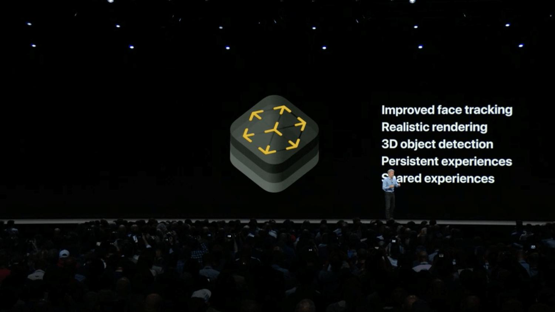 Apple presenta ARKit 2.0 con experiencias compartidas, mejoras en el seguimiento facial y más