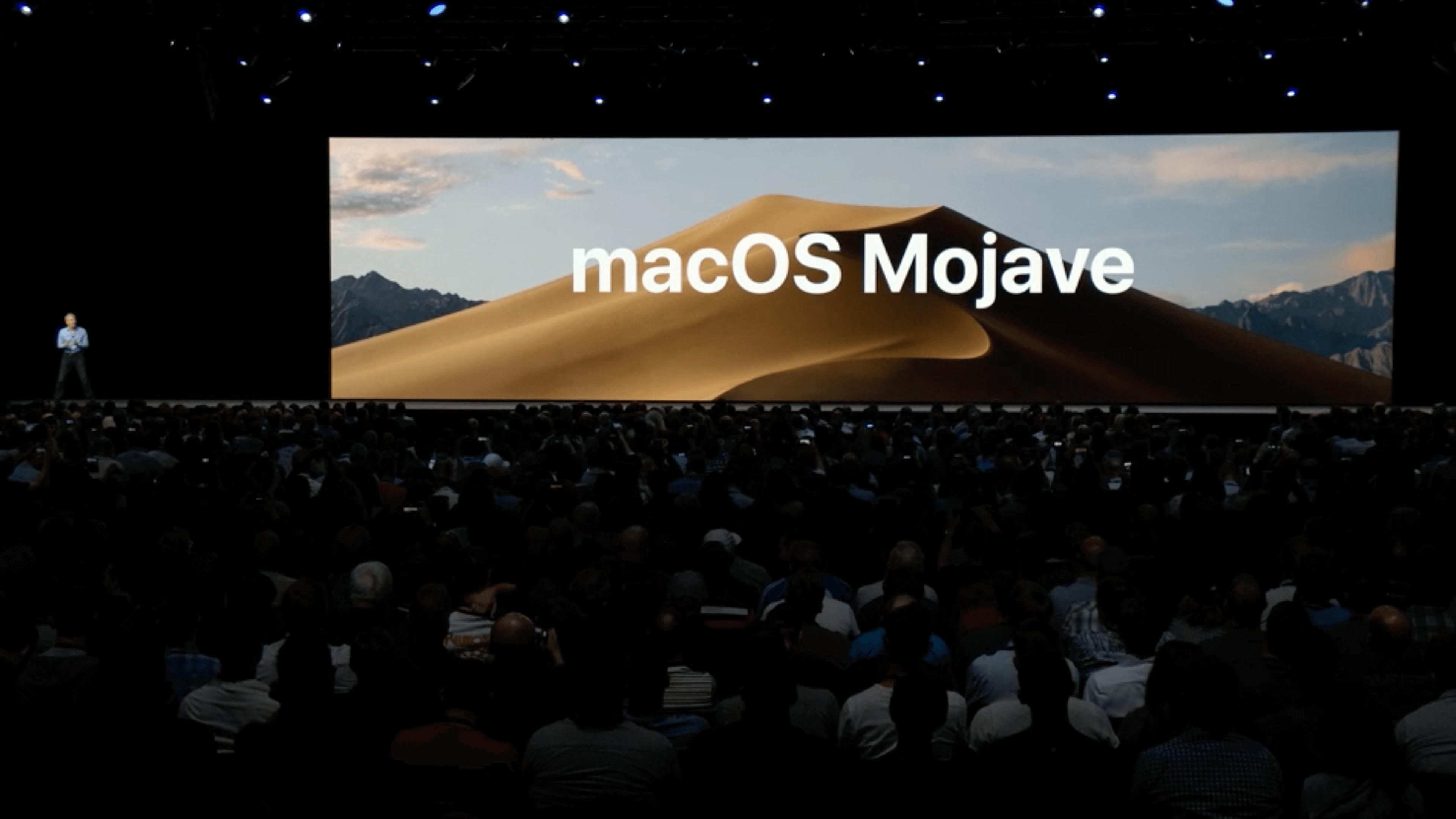 Apple presenta MacOS 10.14 Mojave con modo oscuro, aplicación de inicio, nueva tienda de aplicaciones y más