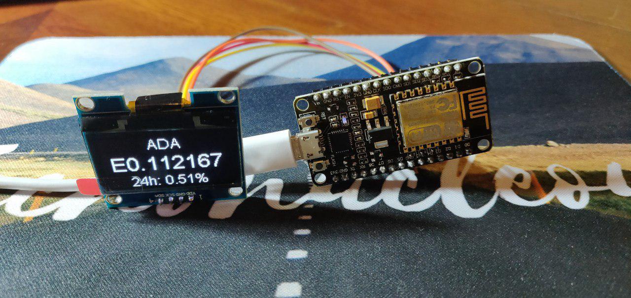 Crea tu visor del precio de las criptomonedas en tiempo real