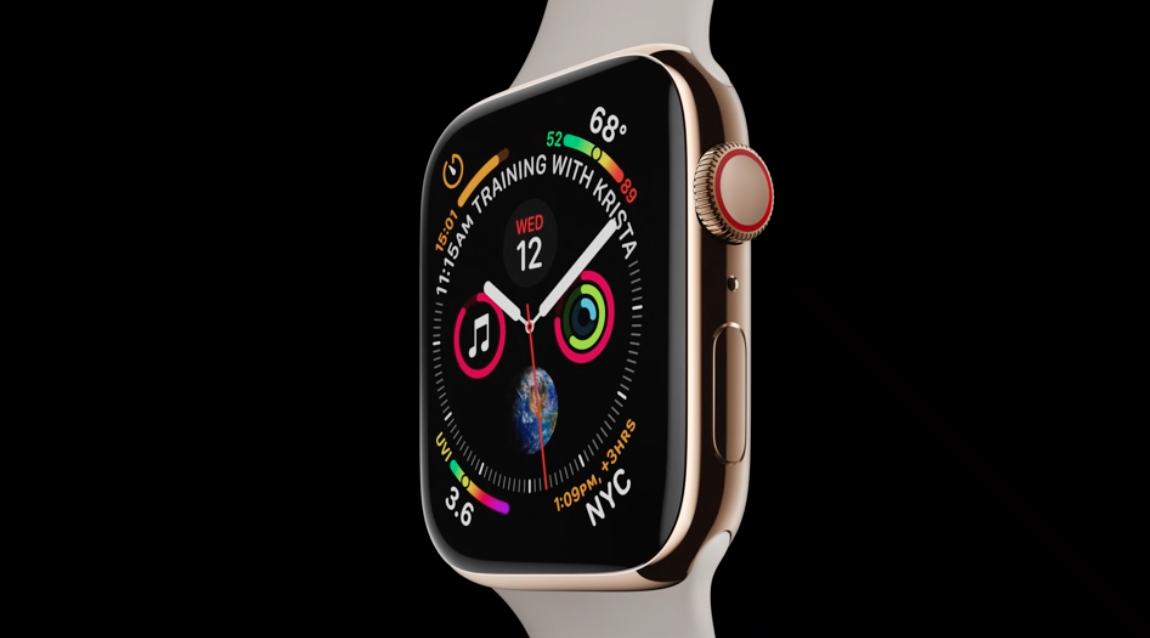 Empezamos la Keynote con el Apple Watch Series 4