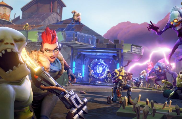 El modo Save the World de Fortnite Free to Play se retrasa hasta el 2019