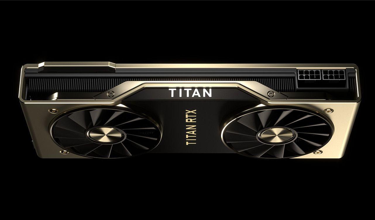 Anunciada la nueva Nvidia Titan RTX