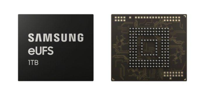Samsung produce la primera memoria eUFS de 1TB para SmartPhone