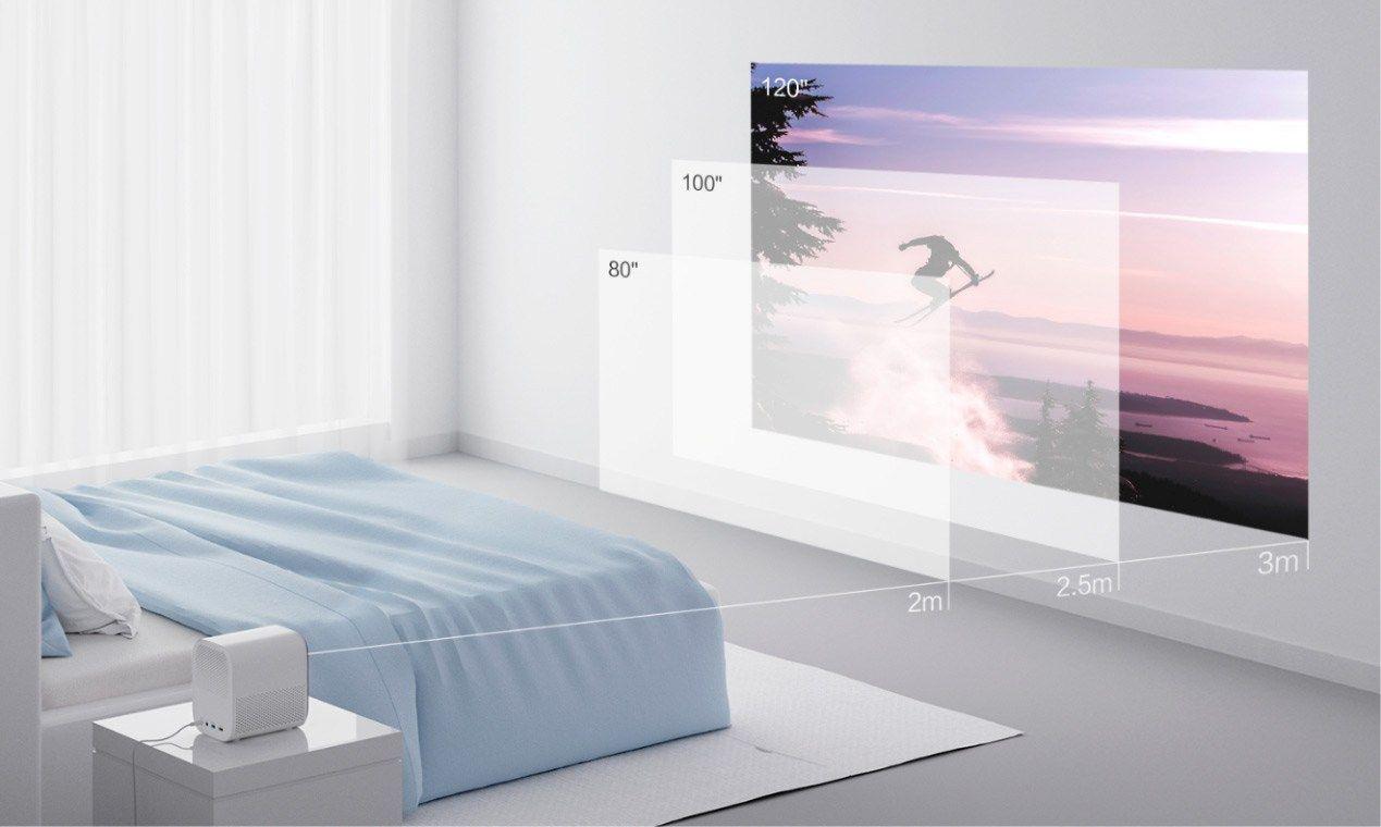 Mijia Home Projector Lite: Proyector barato de Xiaomi con MIUI TV