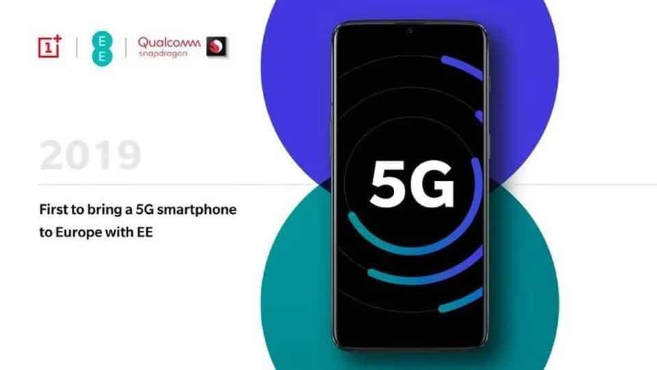 OnePlus presentará un prototipo de teléfono 5G en el MWC 2019