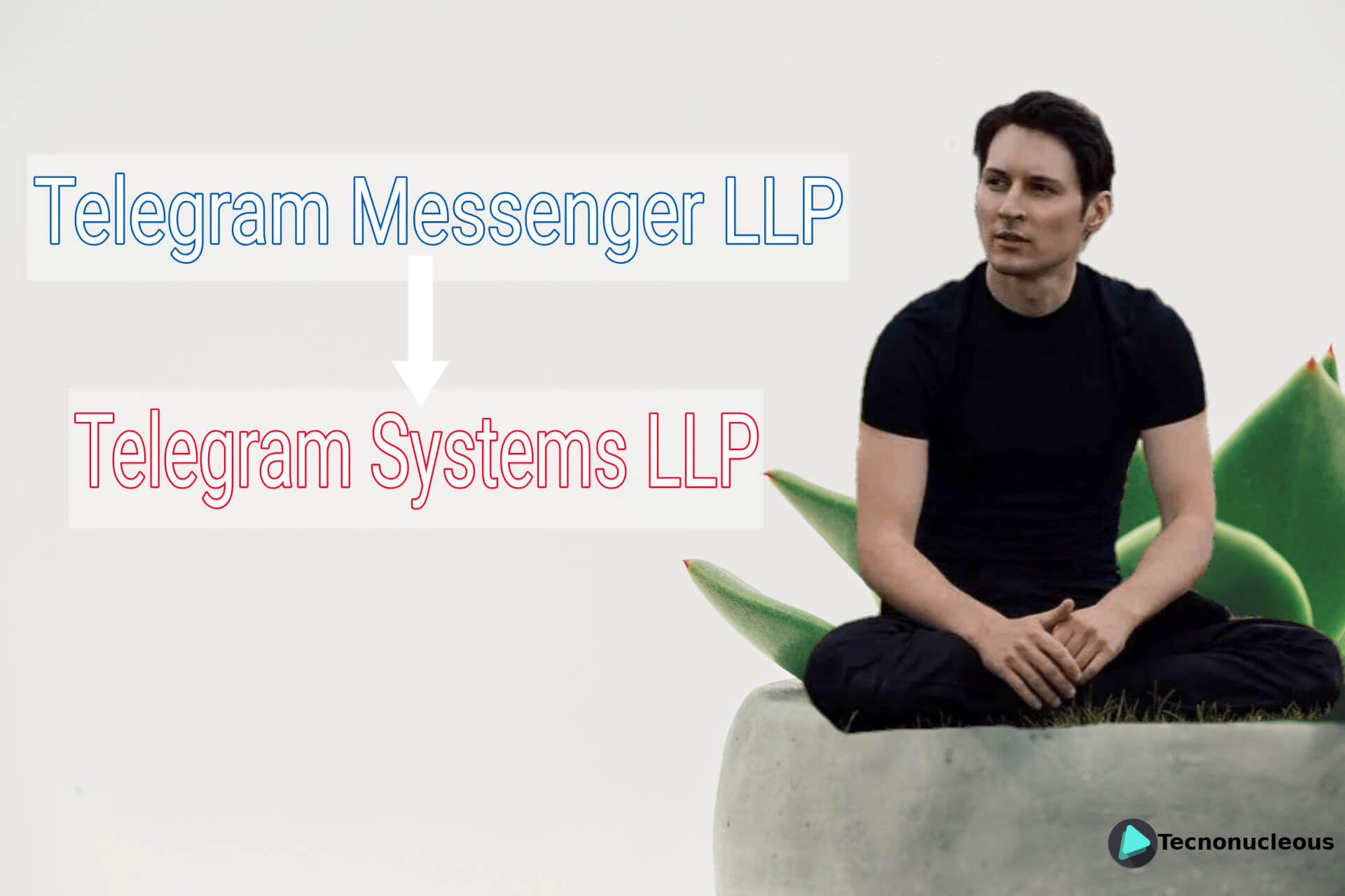 Telegram Messenger LLP pasa a llamarse Telegram Systems LLP