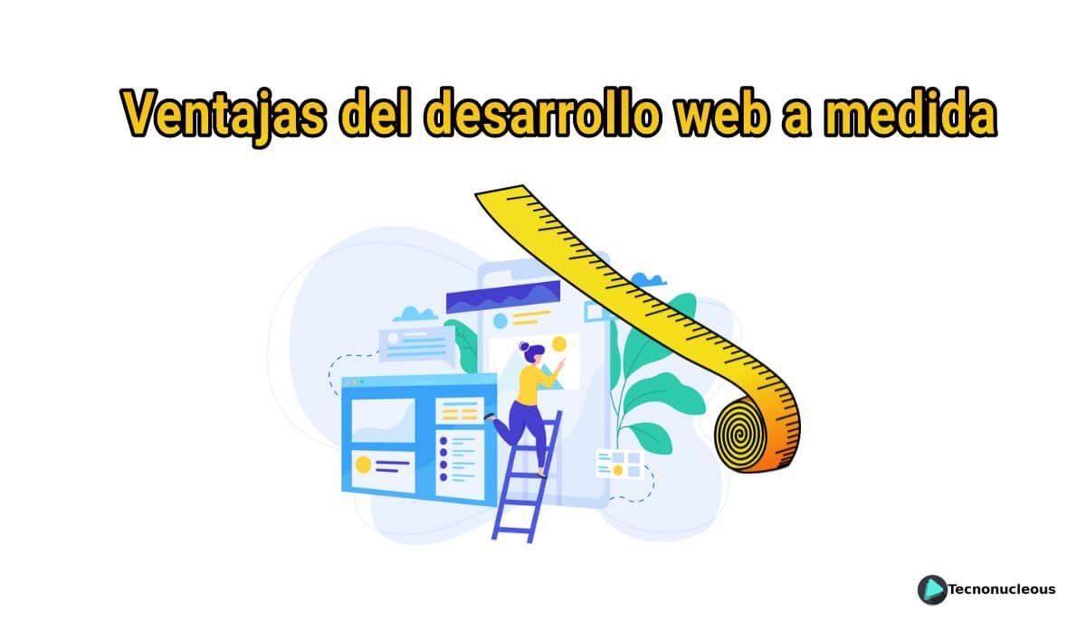 Ventajas del desarrollo web a medida softem