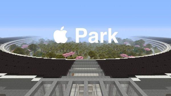 Un gamer de Minecraft crea el Apple Park
