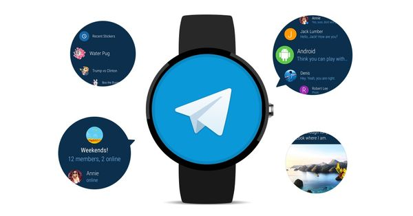 Novedades en Telegram para Android Wear 2.0