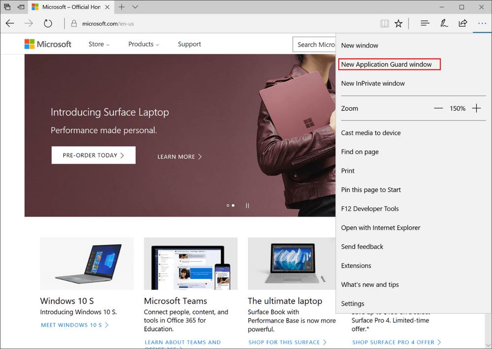 Microsoft Edge mejora incluyendo un sandbox