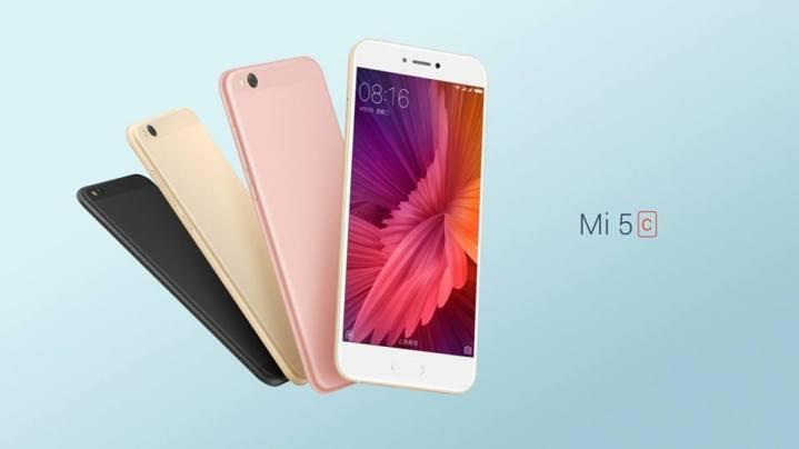Nuevo Xiaomi Mi 5c presentado en el MWC 2017