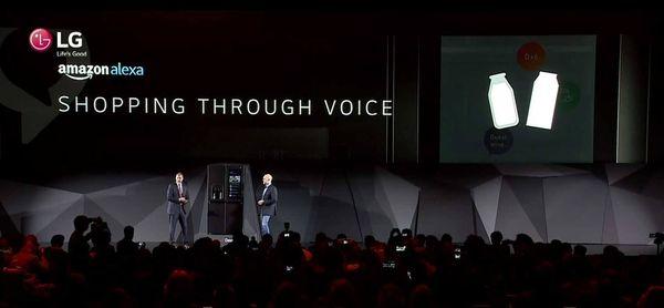 LG Smart Instaview con asistente de voz
