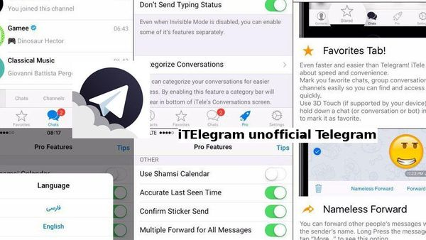 iTele, el Telegram plus para ios y ipad