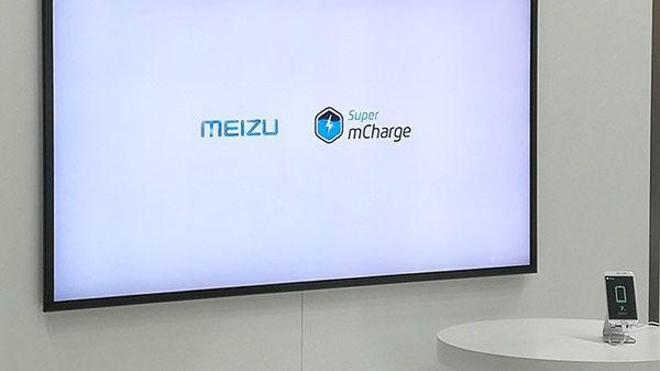 Meizu presenta el Meizu Super mcharge que carga tú móvil en 20 minutos