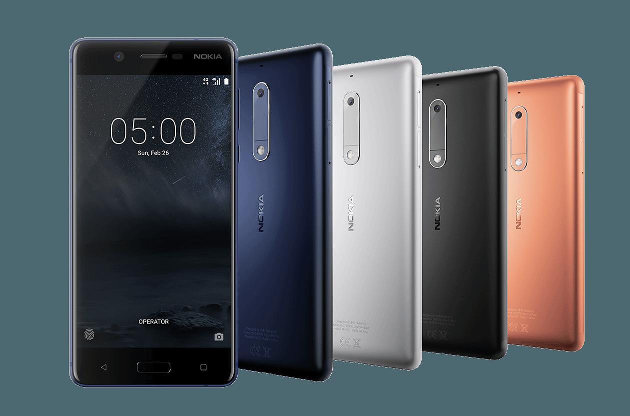 Nokia presenta el Nokia 3 y 5 en el MWC de Barcelona