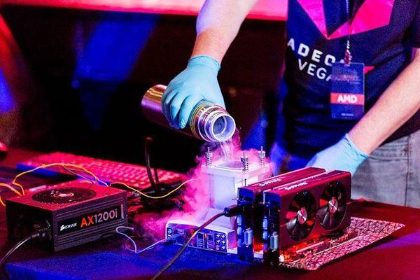 Se filtrán datos de un chip de la AMD Vega de 64CUs