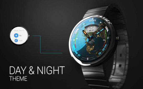 Atlas, la espectacular watchface que te muestra el ciclo del día y la noche