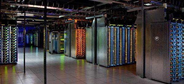 Los espectaculares centros de datos de Google, desde dentro
