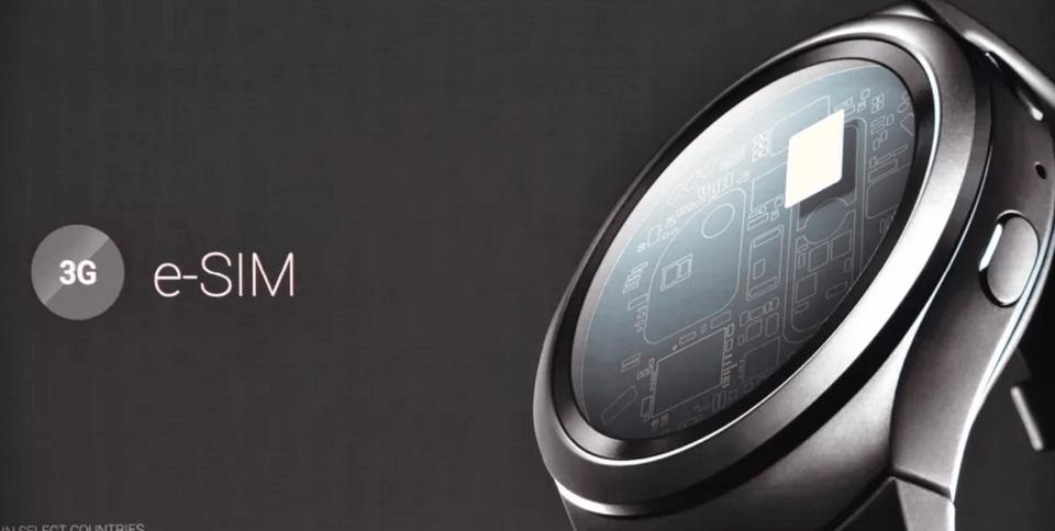 Samsung, el primero en lanzar un Smartwatch con Sim Virtual
