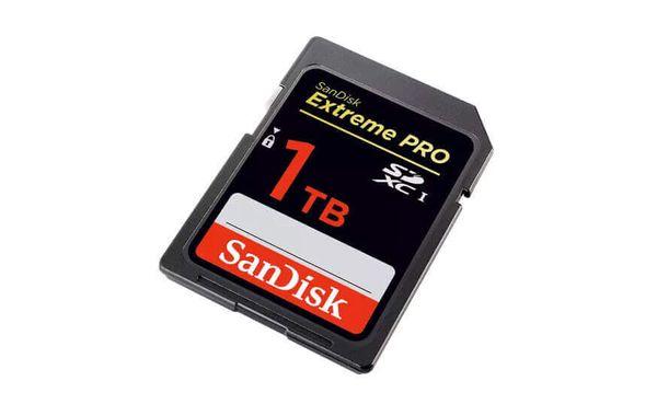 SanDisk supera su propio récord y prepara la tarjeta SD de 1 TB