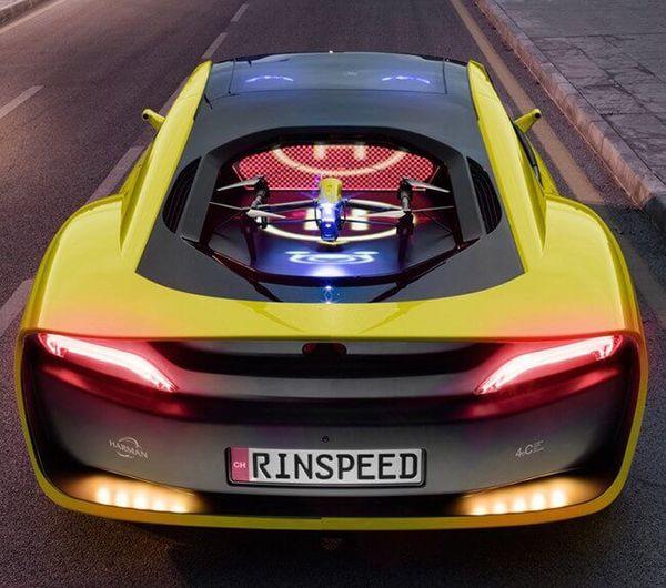 Rinspeed desvela los detalles de su increíble prototipo de coche autónomo con dron incluido