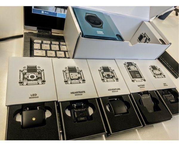 Las unidades finales de Blocks el smartwatch modular llegan en Agosto