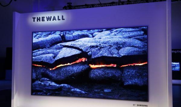 Samsung presenta una televisión de 149 pulgadas con tecnología micro led