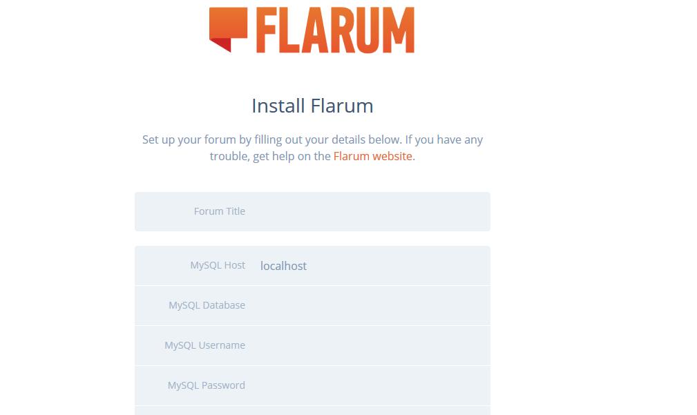 Como instalar Flarum en un web hosting sin usar ssh?