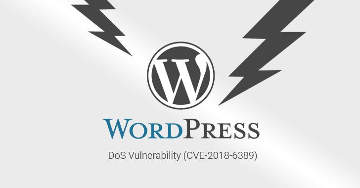 Un error de DoS no parcheado podría ayudar a cualquier persona a tumbar sitios web de WordPress