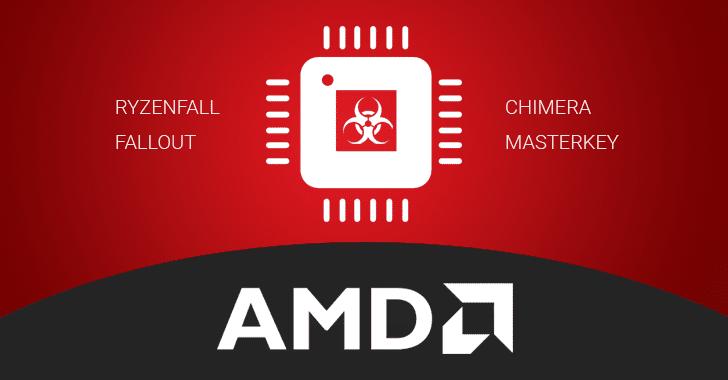 13 fallos críticos de seguridad descubiertos en los procesadores AMD Ryzen y EPYC
