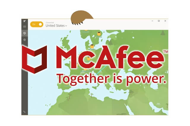 McAfee compra TunnelBear para integrarlo en su producto Safe Connect