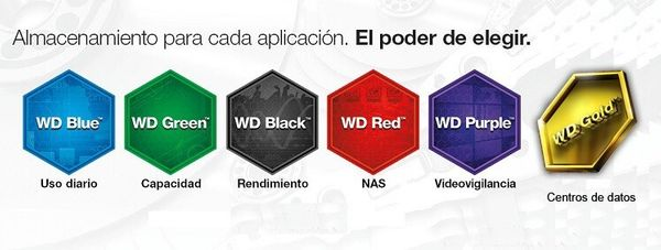 El mejor disco duro interno para tu PC: Western Digital Blue, Black, Red, Gold o Purple