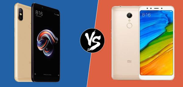 Comparación: Xiaomi Redmi Note 5 vs Redmi 5