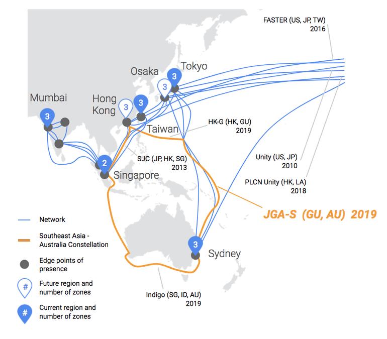 Google anuncia su nueva inversión en el despliegue de más cable submarino