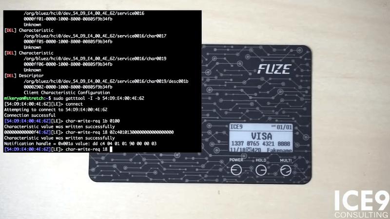 Crackear una tarjeta de crédito Bluetooth?