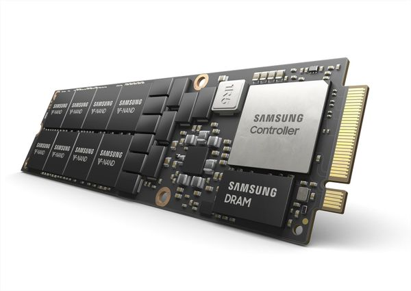 Samsung presenta un SSD NVMe de 8 TB para los centros de datos