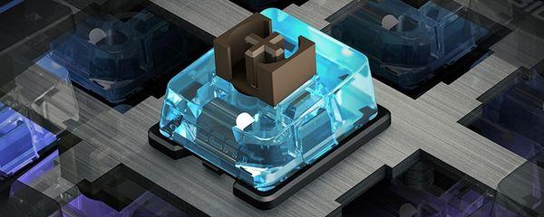 Roccat revela su primer diseño de Switches de teclas táctiles: The Titan
