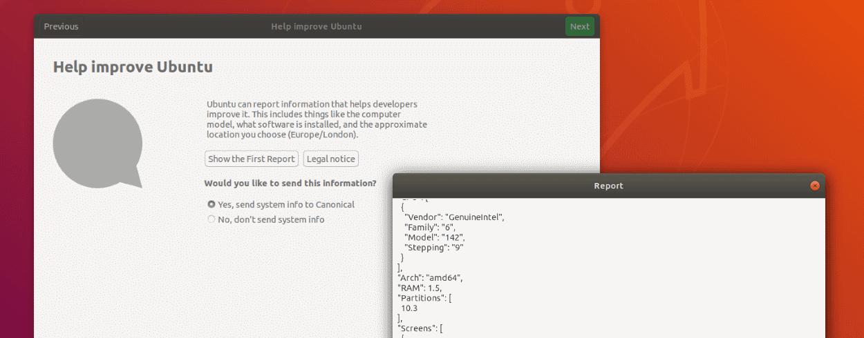 Ubuntu revela las estadísticas de telemetría de Ubuntu Desktop por primera vez
