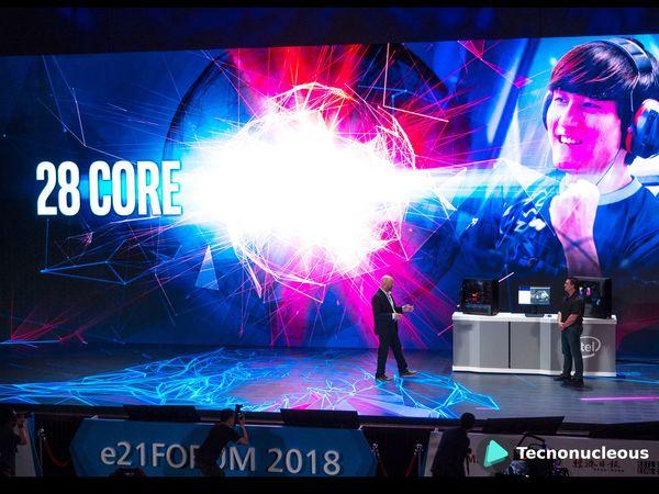 Intel presenta un procesador de 28 núcleos y 56 hilos
