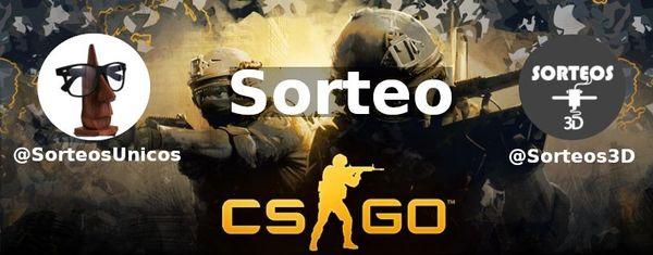 Sorteo de una clave de Steam de CS:GO