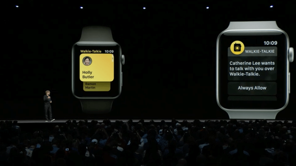 Apple anuncia watchOS 5: Podcasts, desafíos de uso compartido de actividades, detección automática de entrenamiento, Walkie-Talkie