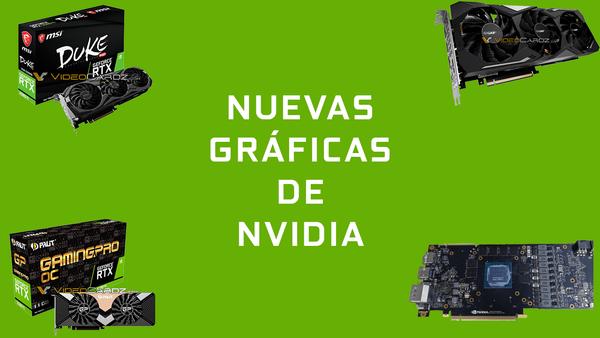 Las nuevas tarjetas gráficas de Nvidia filtradas al completo